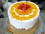 水果忌廉DIY蛋糕(原味底胚)