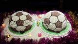足球场蛋糕
