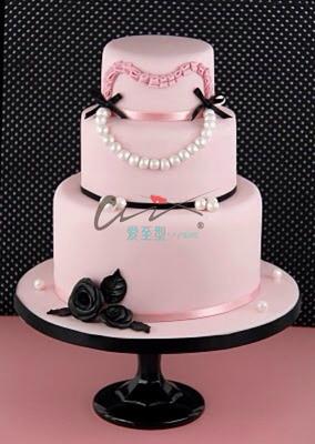 翻糖多层蛋糕
